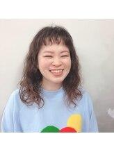 アオタニ ヘアー 御所南店(aotani hair)台湾風くるふわ楽チンパーマ