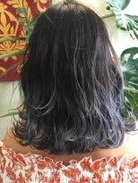 マハナ(Mahana by hair)*人気のバレイヤージュカラー*