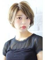 ガーデン ハラジュク(GARDEN harajuku)【Grow 】高橋 苗 大人可愛い【小顔ひし形】ニュアンスショート