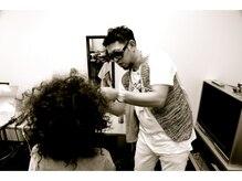 ヘアーメイクビロー タカマツ(Hair Make Billow Takamatsu)の雰囲気(ヘアーショー、モデル撮影なども手がけております!Tayasu氏)