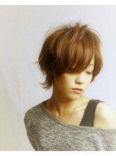 ヘアリラクシングルーラ(hair relaxing LuRa)クールフェミニンショート