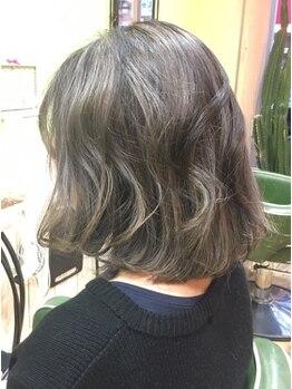 ケーズ ヘアー 千葉店(K's Hair)の写真/Vegan認証カラー使用◎天然由来成分の優しいカラー剤でケアしながら発色と透明感が叶う♪(ヘナ取扱い無し)