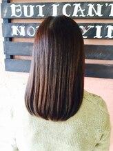 ヘアースタジオ グロース 吉村店(HAIR STUDIO growth)シンプルだけど毛先が自然なストレートが魅力