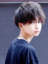 リップス 梅田ロフト(LIPPS)【2019年メンズ髪型】マット・シースルーマッシュ