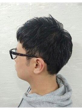 ポンヘアー(PON hair)簡単スタイリング☆シンプルベリーショート