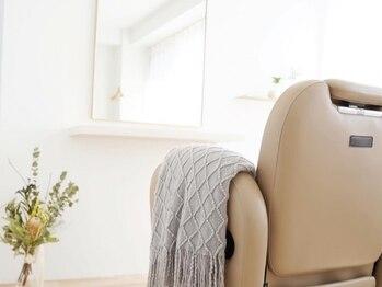 エアー(Air)の写真/周りを気にせず相談できるのも嬉しい◎VIPな個室で日常とは違う贅沢なサロンタイムを【Air】で過ごして♪