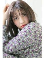 ログヘアー 大塚北口店(L.O.G hair)シースルーバングスタイル【大塚/池袋/新大塚】