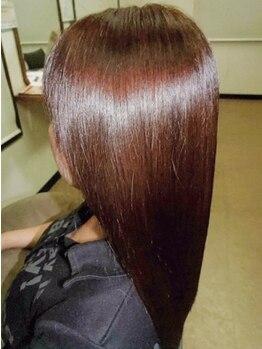 ブラムヘアー(blm hair)の写真/《髪質改善×極上のトリートメント》 頭皮から改善◎髪が自然とまとまり、頭の形がキレイに見えると話題!