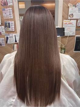 フレア志ミラーレ(flare)の写真/【明石/大久保駅チカ】乾かしただけでサラ艶髪に!誰もが羨む潤い髪に。どんなダメージ毛でも諦めないで!