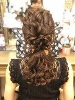 ヘアセットサロン アトリエ チャイ(Hair set salon atelier CHAI)ローポニー