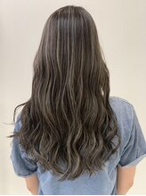 ジェムヘアスタジオ 湘南平塚南口店(Gem Hair Studio)Gem Hair studio 久保 バレイヤージュ/ハイライトカラー