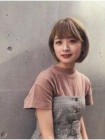 ガーデン アオヤマ(GARDEN aoyama)豊田楓 丸みショートボブ 小顔 イルミナカラー
