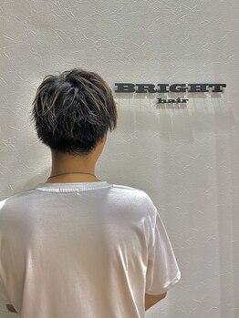 ブライトヘアー(BRIGHT hair)の写真/9月NewOpen!【men'sカット+シャンプー3000円】★ men's大歓迎サロン