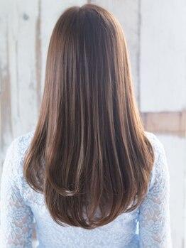 新 私のトリートメントの写真/髪質・お悩みに合わせてオーダーメイド♪最上級トリートメント『Aujua』で、柔らかく艶サラな美髪に☆