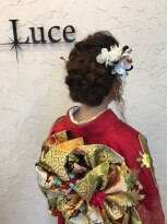 ヘアーアンドスパ ルーチェ(hair&spa Luce)成人式ヘア