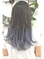 ヘアーサロン エール 原宿(hair salon ailes)(ailes原宿)style299 デザインカラー☆マーメイドブルージュ