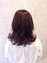 オークヘアーミエル 博多店(OAK hair miel)モテ髪パーマセミロング♪【OAK 博多店】
