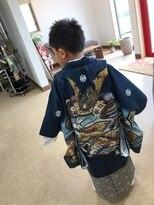 コパン(copain)5歳七五三