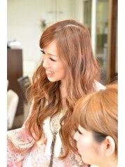ヘアーメイクサロン シャルメ(Hair Make Salon CHARMER)/河内 佳那子