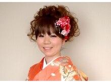 大阪ガーデンパレス ビューティサロンローズ美容室の雰囲気(アップスタイル¥3,780~ 着付け¥7,560~ )
