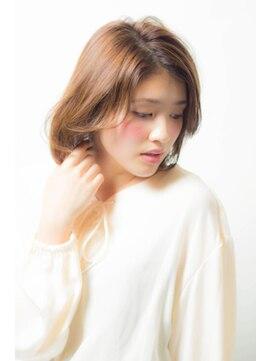 ミンクス 銀座店(MINX)【MINX銀座】蛭田佑介「ノームコア x オトナボブ」