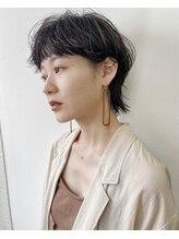 ジュノ 天文館本店(Juno)【JUNO】マッシュショート ウルフ 黒髪ショート