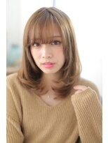 ジーナシンジュク(Zina SHINJYUKU)☆Zina☆色っぽふんわりワンカール♪