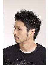 シュープ デュー イオン千種店(SHOOP deux)男らしい黒髪ショート