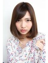 ヘアーメイク リアン 新田辺店(Hair Make REAN)◆REAN 京田辺/新田辺◆柔らか&つツヤ感のボブスタイル