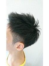 リアム ヘアアンドメイク(liam hair and make)2ブロックソフトモヒカン