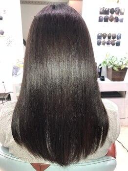美容室 オルガニーク 沖浜店の写真/ナチュラル美髪に仕上げる☆本格髪質改善トリートメント【キラ髪】で極上ツヤ髪のビューティーガールへ♪