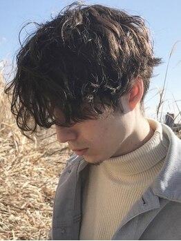 アイニコ(ainico)の写真/【カット+パーマ+3stepトリートメント¥7100】毛先に動きを出すことで雰囲気を大きく変え、柔らかい印象に♪