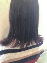 ヘアーサロン リアン 熊谷2号店(hair salon Rien)裾カラー×ピンク