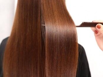 クラッチ 天王寺(CLUTCH)の写真/美容業界で大流行!【酸熱トリートメント】縮毛矯正はしたくない。諦めていたあなたに最新の選択肢♪