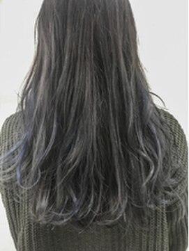 ヘア デザイン ヴェルダ(hair design Verda)【verdaお客様スタイル】とろみアッシュグレーカラー