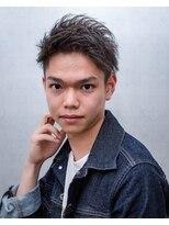 ケーコーム プール(K-COM POOL)2ブロック アシメ モヒカン
