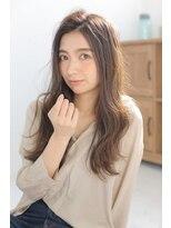 ジーナシンジュク(Zina SHINJYUKU)Zina☆無造作グラマラスセンターパートマーメイドアッシュ