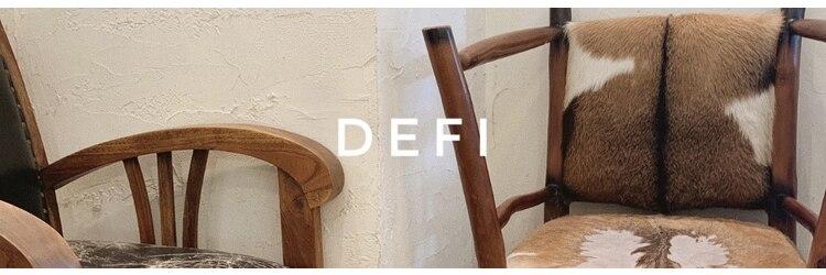 ディフィー(Defi)のサロンヘッダー