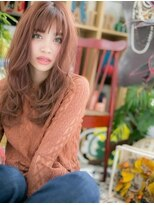 *+COVER HAIR+*…個性派カラーでラブグラマラスa