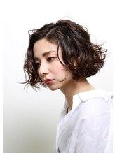 ヘアアンドアートルーム ジェンガ(hair&artroom Jemga)ニュアンスボブ