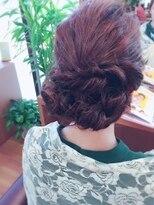 ココロ(HAIR CoCoro relaxation)アンニュイアレンジ☆