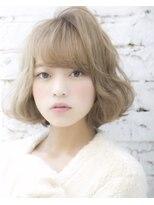 ロンドフルール 大宮東口(Lond fleur)【Lond fleur】ミルクティーアッシュフェミニンボブ