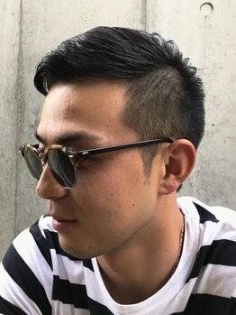 フェリーク ヘアサロン(Feerique hair salon)の写真/【男性リピーター多数!】レザー×シザーで創るメンズスタイルは、高い再現性とデザインが大好評◎
