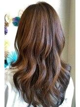 アフィニテ(Hair Design AFFINITE)ツヤサラ ロング