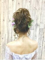 ヘアースペース ムーン(Hair Space MOON)結婚式やパーティー イベントのヘアセットはムーン岡山にどうぞ