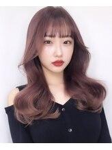 シマ キチジョウジ(SHIMA KICHIJOJI)ピンクベージュ 女っぽなコリアスタイル
