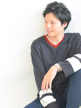 ヘアーサロン ラフリジー(Loufreasy)☆くせ毛をいかしたアップバングショートスタイル☆