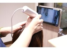 アドゥーヘアー(A do hair)の雰囲気(マイクロスコープで頭皮と髪の診断。最適なメニュー提案をご提案)