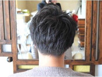ヘアーデザインギフト(Hair design gift)の写真/オシャレメンズも気軽に通える人気サロン!!技術×提案にトレンドを取り入れたスタイル創りをしています★