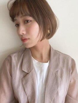 アミ(Ami)の写真/ショートヘアはカット技術でキマる!骨格や髪質など1人1人に合わせたカットで理想以上のスタイルに♪